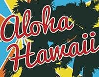 Aloha Hawaii Dance Poster
