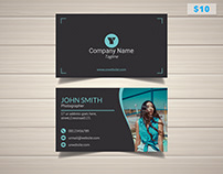 Cool Photographer Business Card