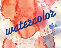 Watercolor Poster Design
