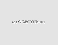 History of Architecture 3: Asian Architecture