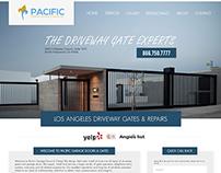 Web Design   Pacific Gates