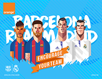 Orange - Classico / Barcelona VS Real Madrid
