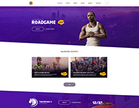 Roadgame Webdesign
