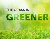 Grass is Greener Recruiting Campaign