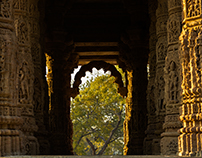 One Morning at the Sun Temple, Modhera - A Photo Story