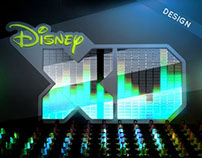 DisneyXD / Network Launch Graphics / Design