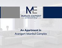 Apartment in Avangart Istanbul Complex