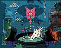 Crimson Cat's Halloween