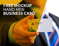 Free Mockup Business Card V2