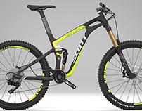 Vtt Scott bike