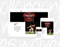 Wollongong Wolves Website Redesign - BIG Review TV