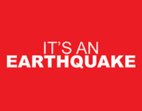 It's and earthquake
