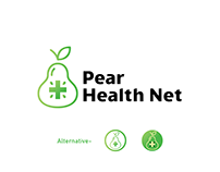 Pear Health Net Modern Health Care Logo