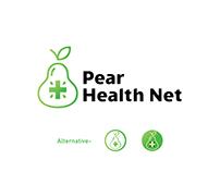 Pear Health Net Modern Health Care Logo
