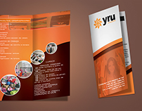 YRU ORGANIZER - Folder Institucional