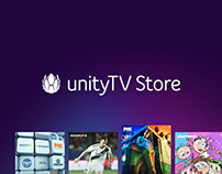 UnityTV Store - Smart TV APP