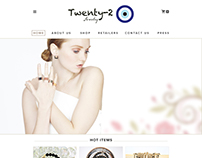 Twenty-2 Website UI Design
