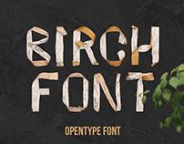 Birch Font