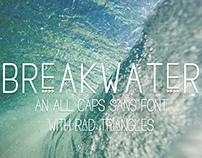 Free Breakwater Triangle Sans Font