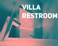 Villa Restroom