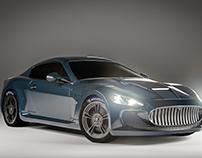 3D- Maserati - Studio