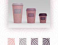 Take your time & drink coffee, logo-packaging