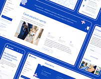 Veterinary clinic website   Ветеринарная клиника