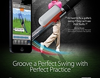 Golf Magazine SkyPro Launch Ad