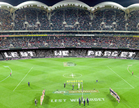 Port Adelaide Football Club - Adelaide Oval Crowd Mural