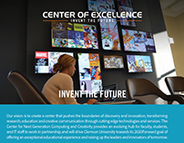 Center of Excellence flyer