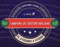 Venta Campaña sustentabilidad LAN