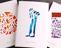 Roald Dahl ~ book cover series