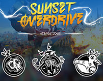 Sunset Overdrive Icon Development