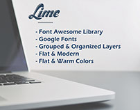 Lime - Website Template