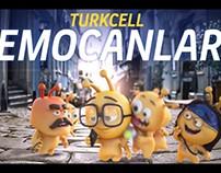 Turkcell Emocan - YouTube PreRoll / Web Banner Serisi