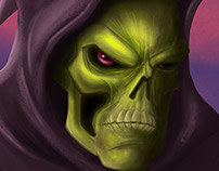 Skeletor Digital Painting