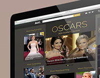 2014 Oscars Academy Awards Page on AOL