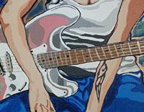 Amy Winehouse and Jimi Hendrix