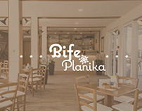 PLANIKA | Bife, architecture, interior, concept, logo