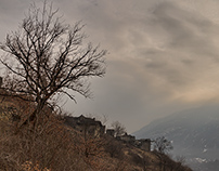 Barmaz - The ruins of the abandoned village