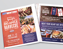 Big Apple Barbecue 2016 Branding