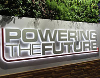 Powering the Future Branding