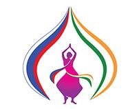 Namaste Russia Festival. Logo competition winner.