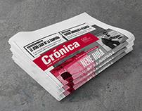 Rediseño Diario Crónica + Suplemento Cocina
