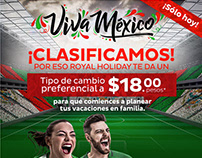 Email Campaign | Royal Holiday | ¡Viva México!