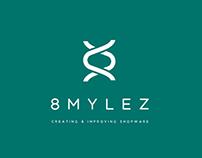 8M logo design