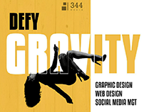 """""""Defy Gravity"""" Ad Campaigns designed with mobile phone"""