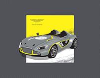"Aston Martin CC100 ""with love"""