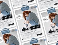Free Modern Fashion Flyer Design Template