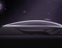 Mercedes-Benz Vision Coupé 100 Thesis project 2015